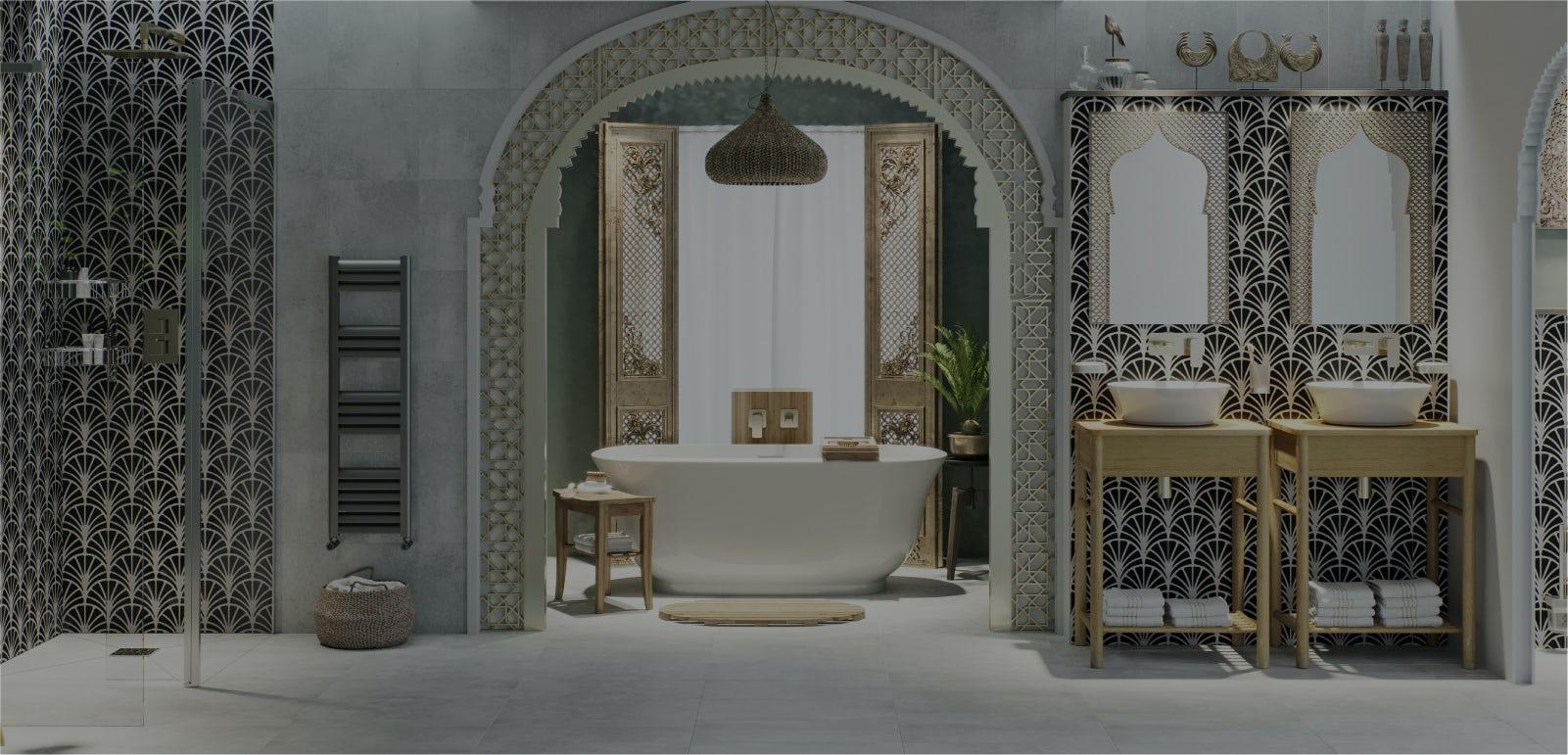 Bathroom Ideas: Go Global—Middle East