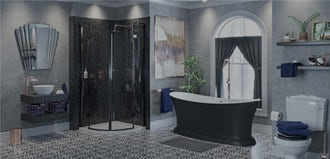 Bathroom Ideas: Be Bold with Eclectic Vision