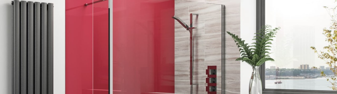 Be bold & create a splash with acrylic wall panels