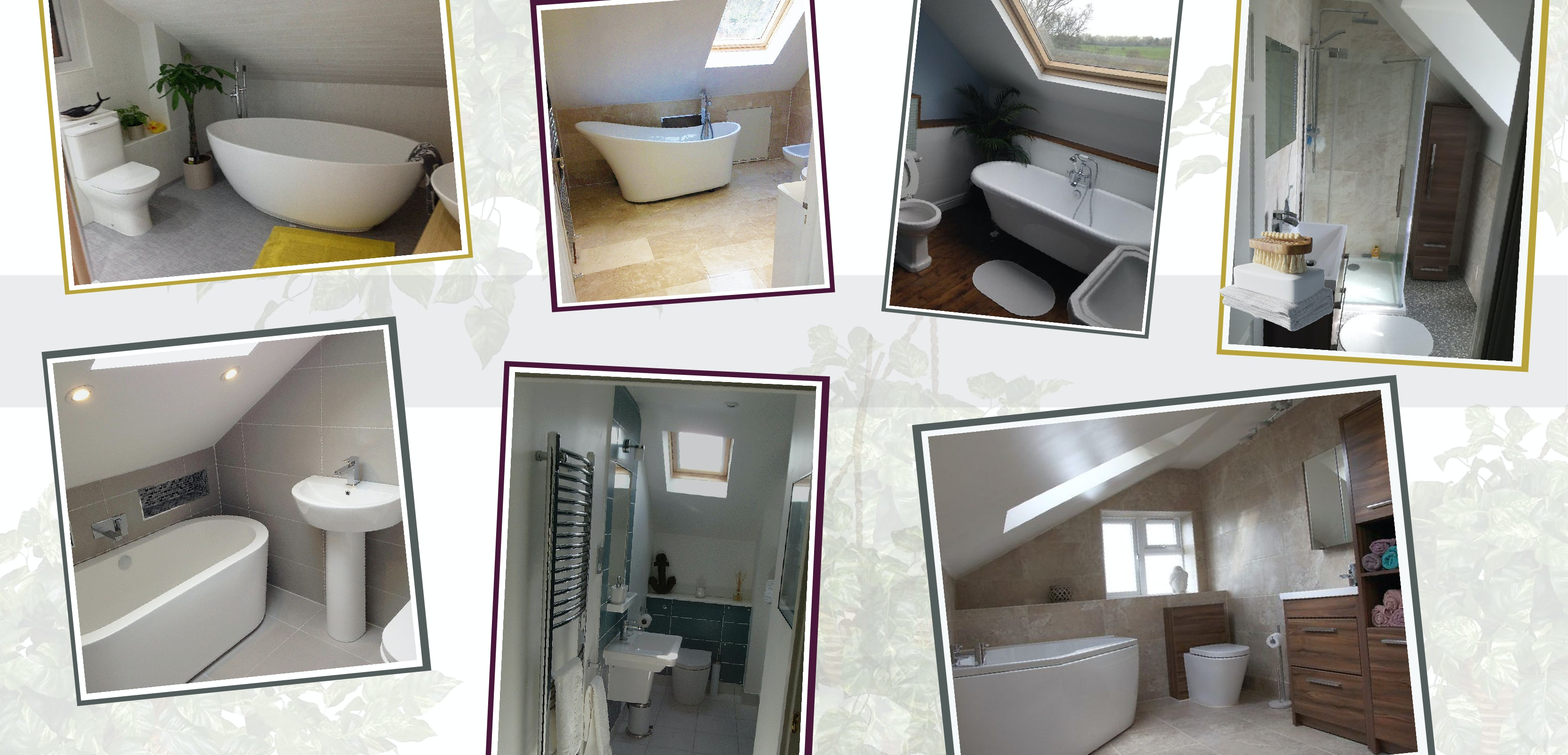 The best bathroom suites for loft conversions