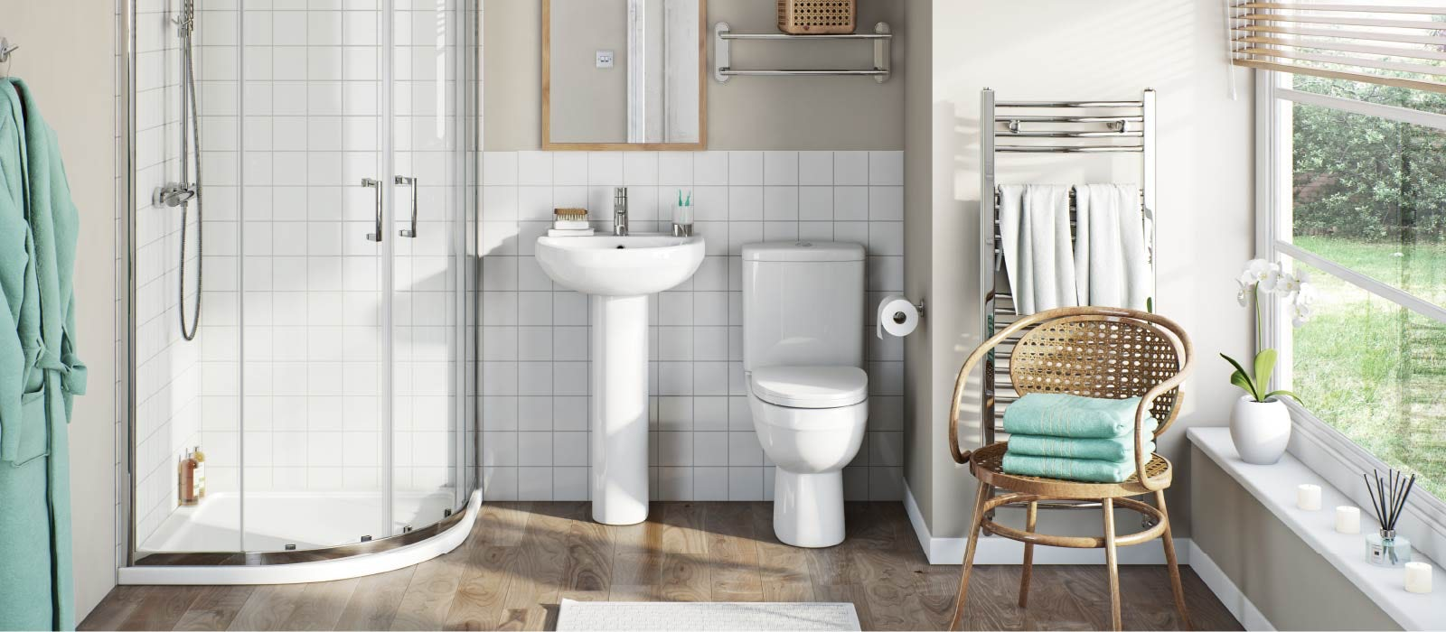 How to turn your bathroom into a home hairdressing salon