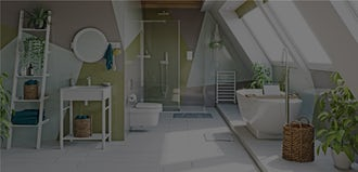 Bathroom Ideas: Colourful Creative