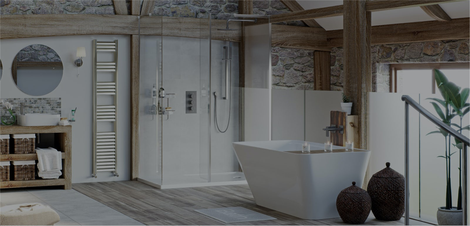 Bathroom ideas: Refined Rustic part 1