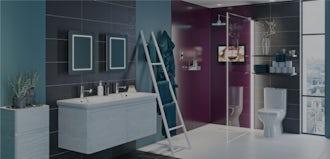 Bathroom Ideas: Be Bold with Power-Up
