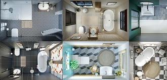 Swell Your Bathroom Layout Clearance Guidelines Victoriaplum Com Uwap Interior Chair Design Uwaporg