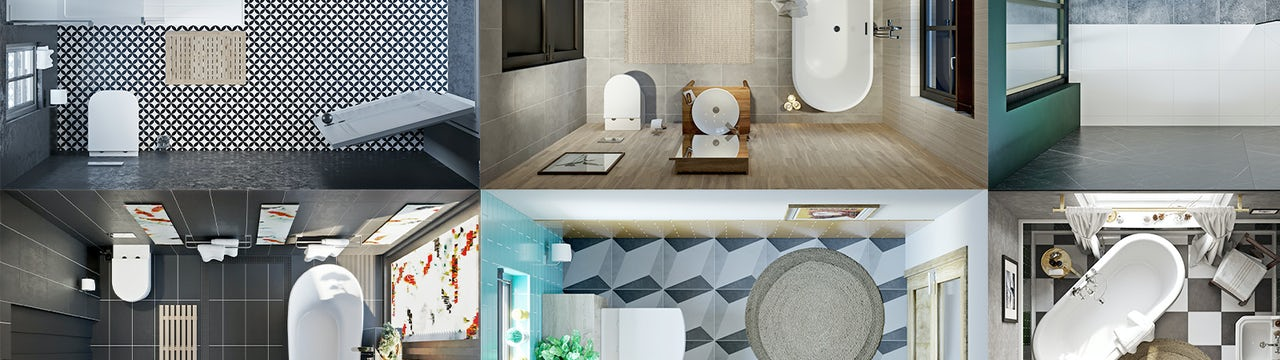 Your bathroom layout—finding room for everything