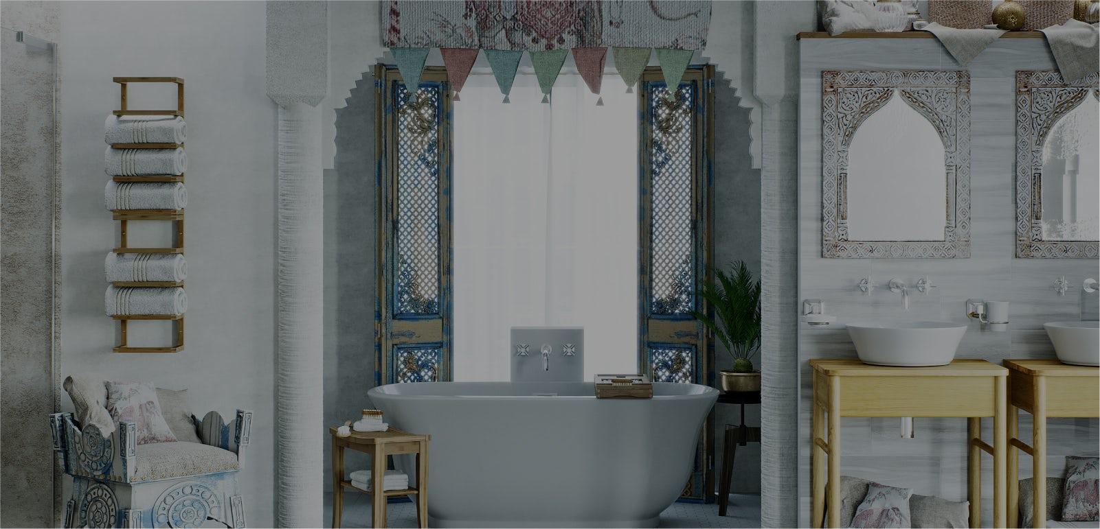 Bathroom Ideas: Go Global—India