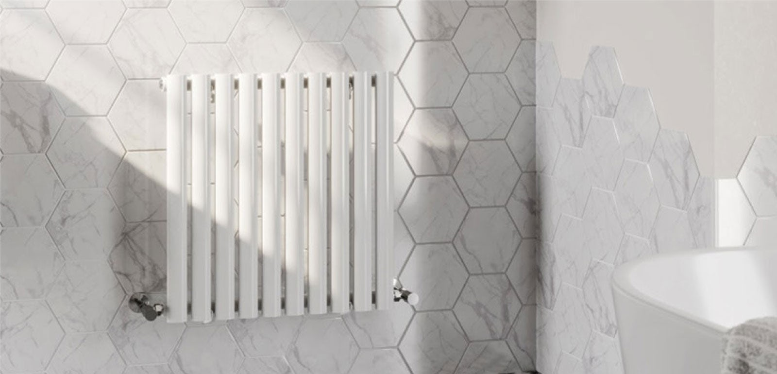 Bring warmth and style to your bathroom with The Heating Co.