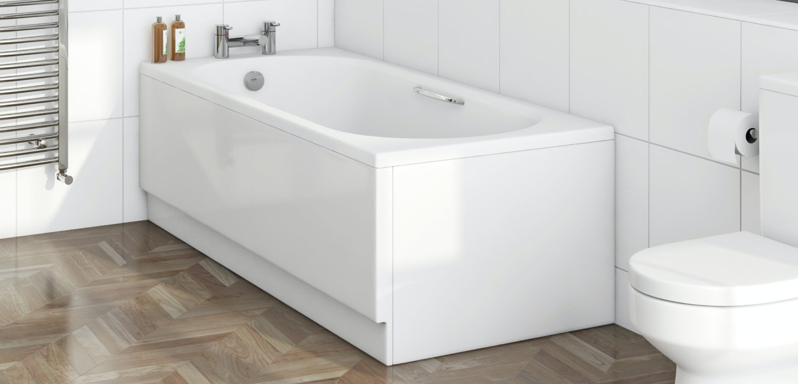 Standard sizes of baths in the panel house 13