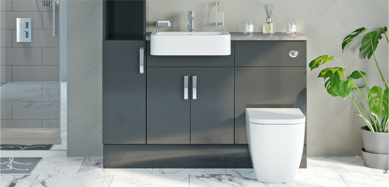 Fitted bathroom furniture buying guide  VictoriaPlum.com