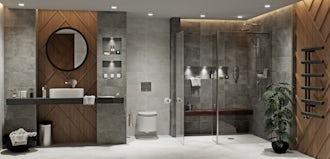 Bathroom ideas: Dark Domain