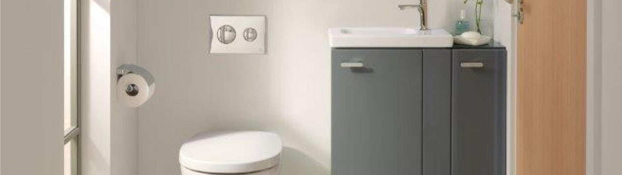Concept Space: Your space-saving bathroom suite