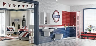 His and Hers: Design tips for shared bathrooms