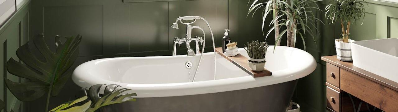 5 refreshing green bathroom ideas