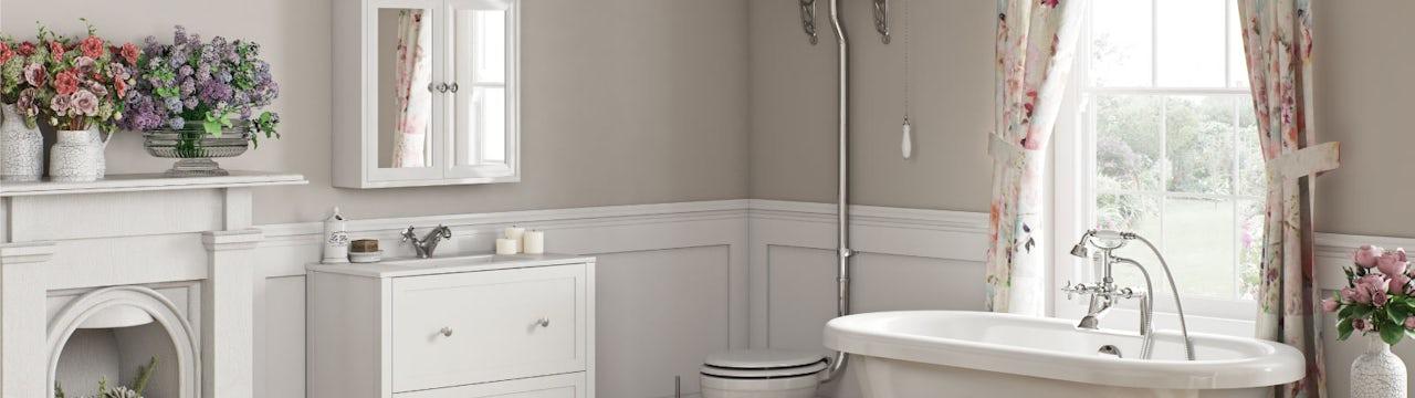 Bathroom Ideas: French Floral