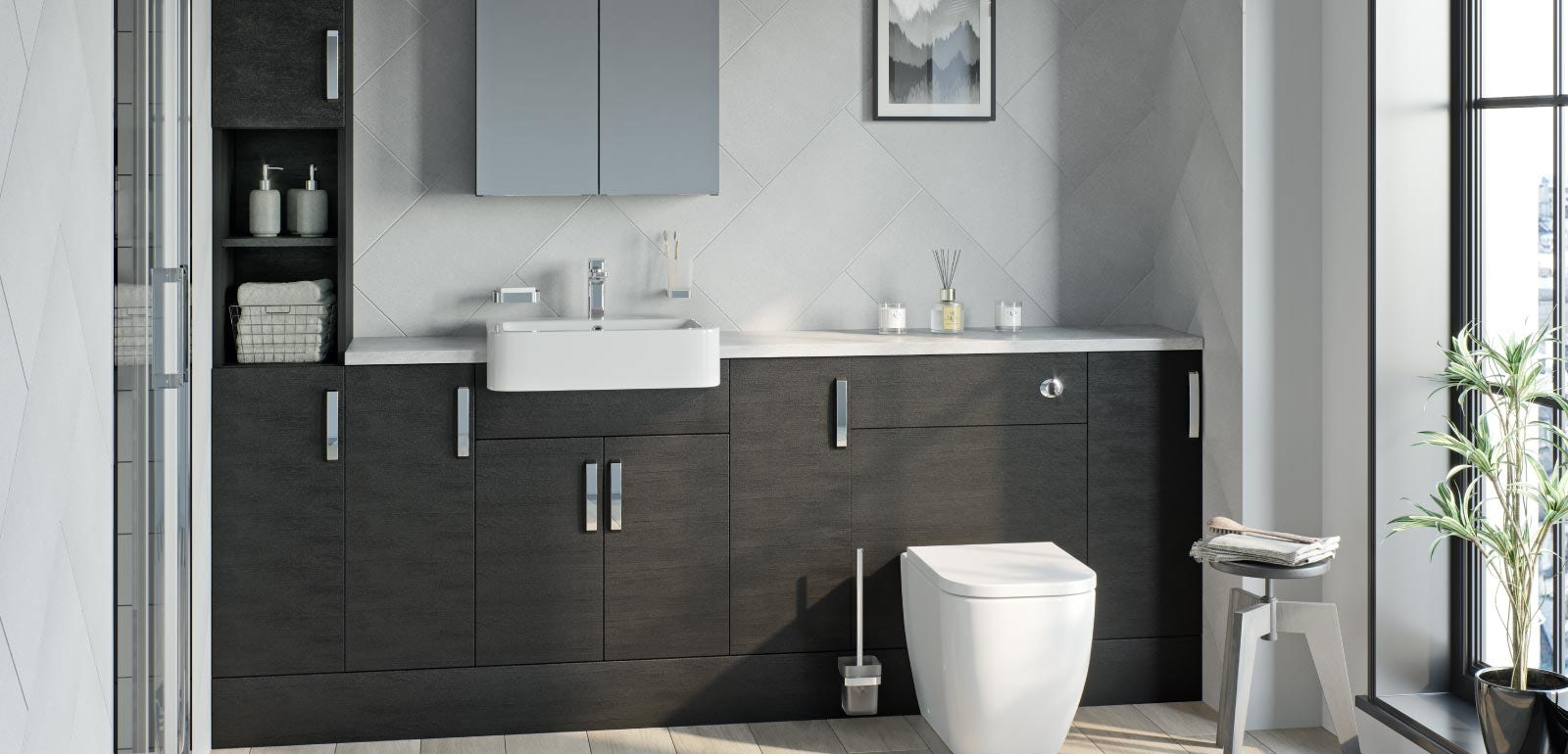 Stylish bathroom furniture ideas for 6  VictoriaPlum.com