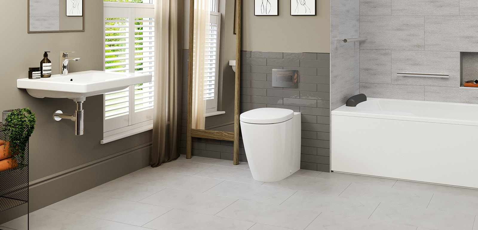 Independent Living: 5 ways to make your bathroom accessible yet stylish with the Ideal Standard Concept Freedom range