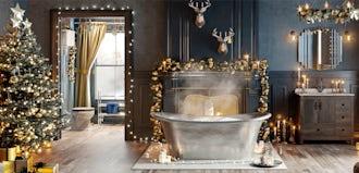 Bathroom Ideas: Enchanted Winter part 1
