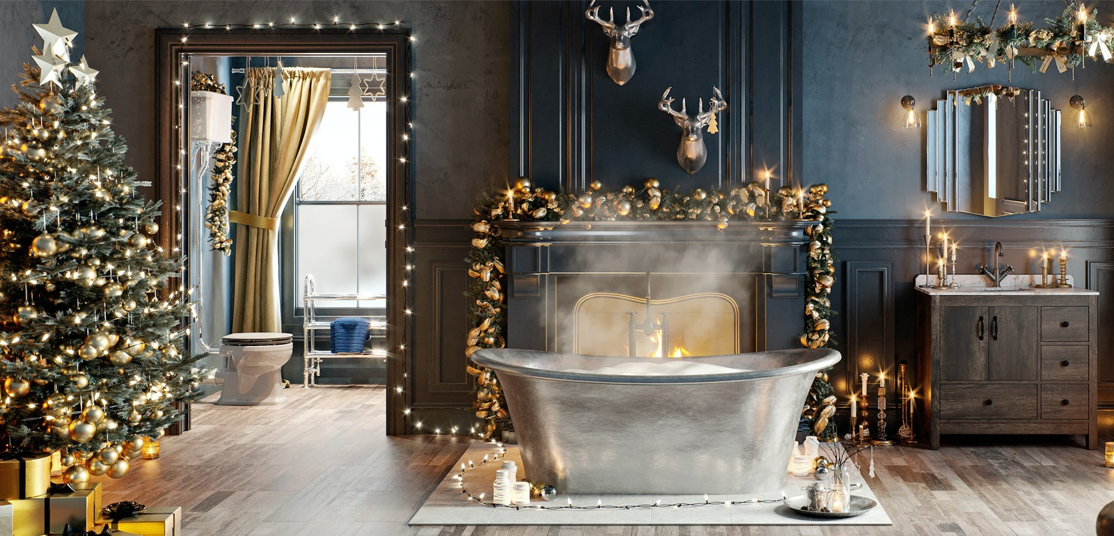 Bathroom Ideas: Enchanted Winter part 1