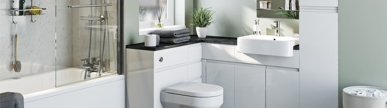 How to install fitted bathroom furniture