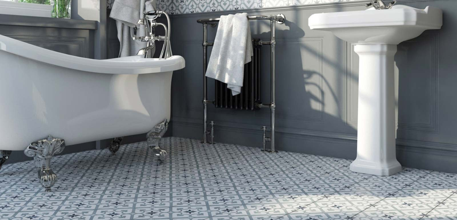 Stylist's Selection: 9 stylish wall and floor ideas for bathrooms