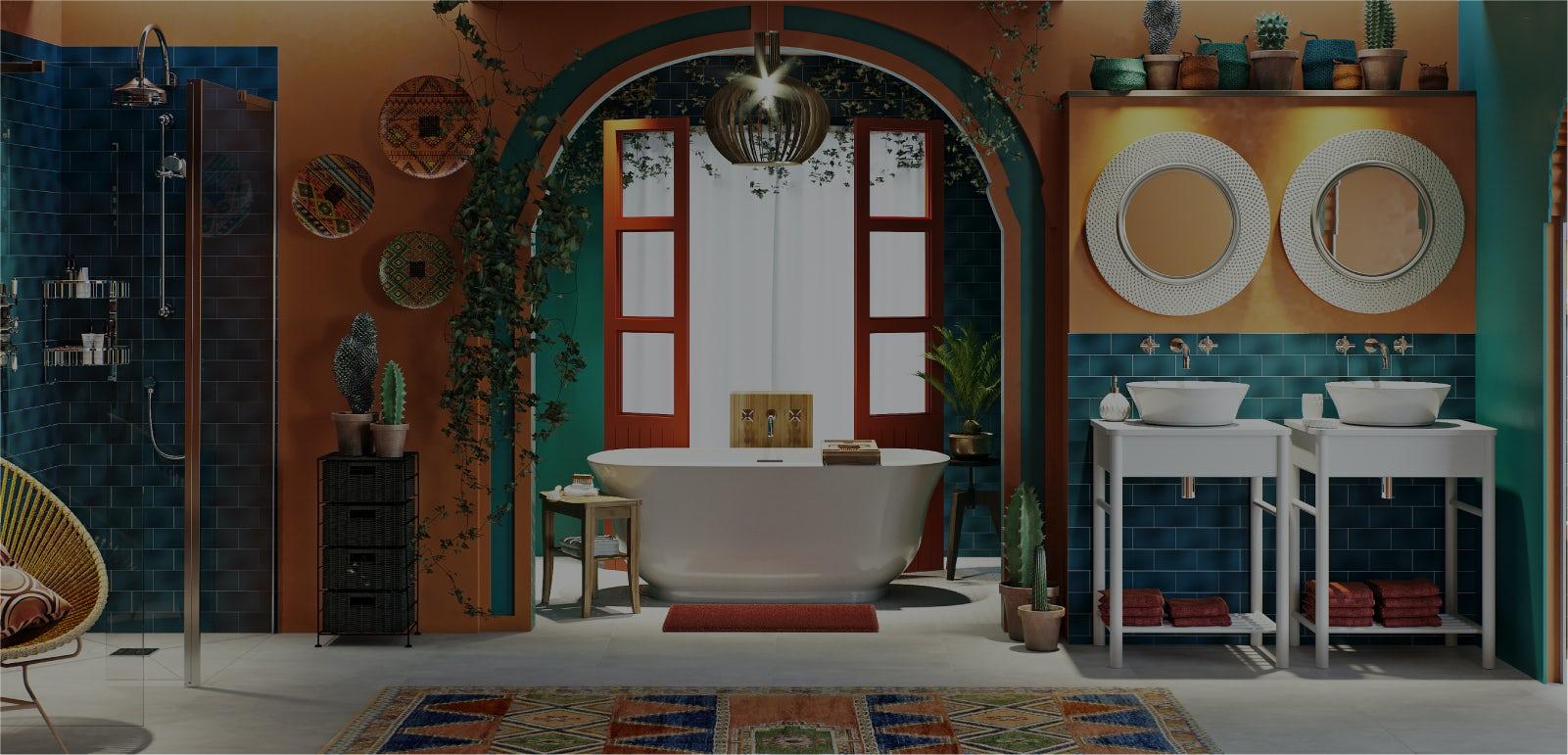 Bathroom Ideas: Go Global—Mexico