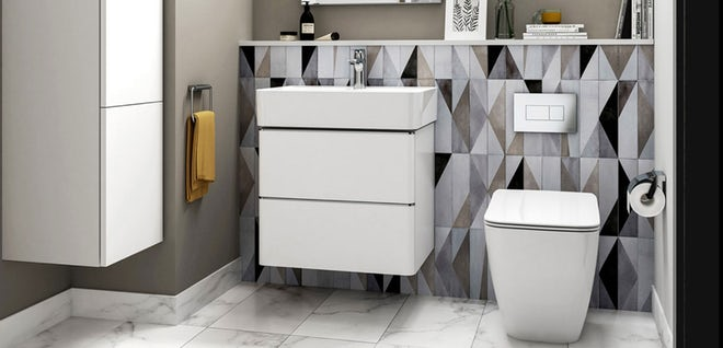 Stylish and sophisticated: The Strada II furniture range from Ideal Standard