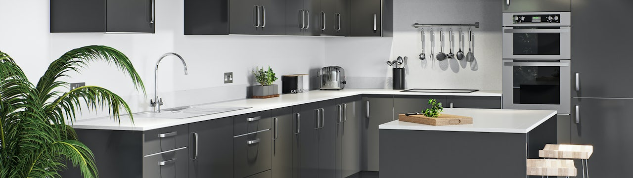 New fitted kitchens at Victoria Plum