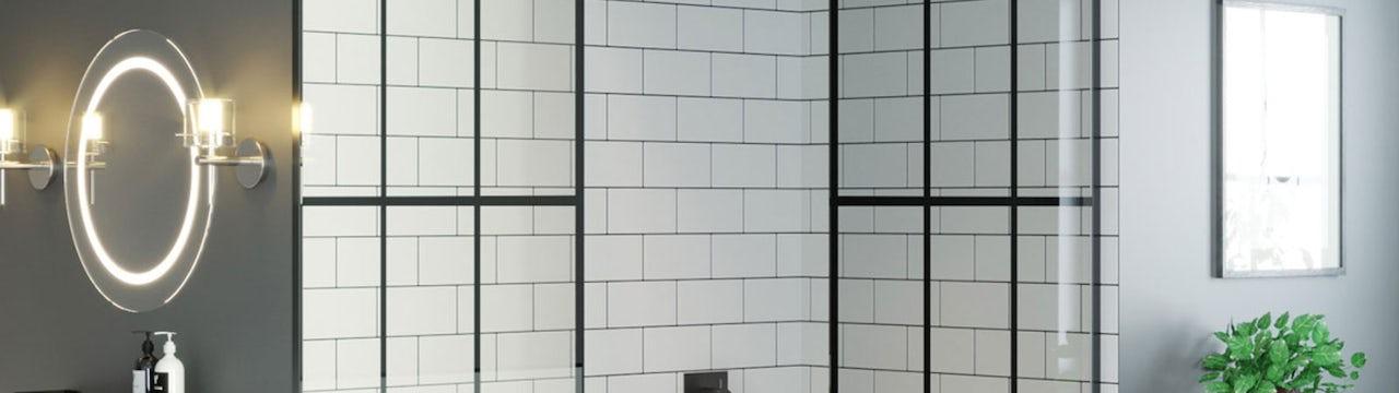 5 ways to use black framed shower screens