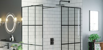 5 ways to use black framed shower screens