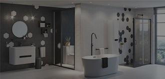 Bathroom Ideas: Be Bold with Maximum Monochrome