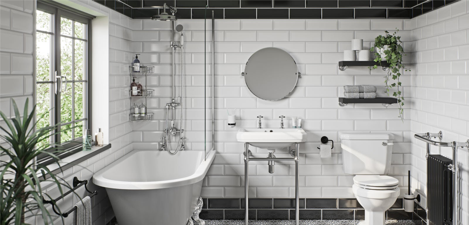 14 elegant traditional bathroom ideas  VictoriaPlum.com