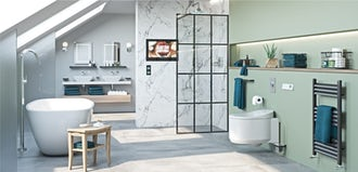Introducing our eco-friendly, water-saving bathroom range