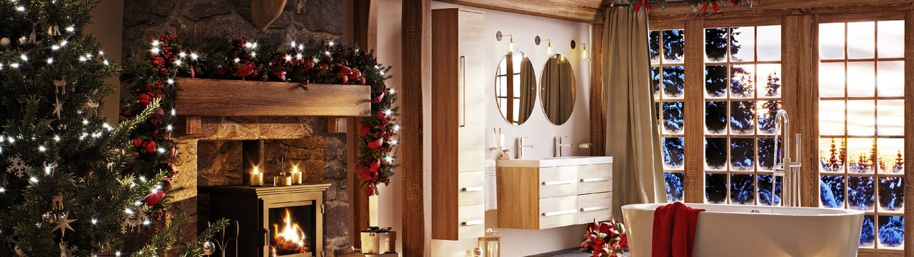 Bathroom Ideas: The Lodge