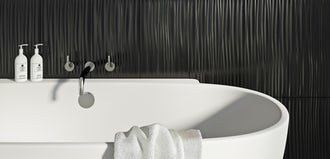 Back to black: 6 magical monochrome touches for your bathroom