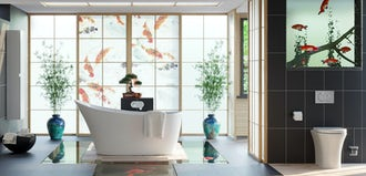 Bathroom Ideas: Oriental Spa