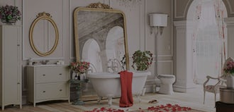 4 romantic bathroom gestures for Valentine's Day