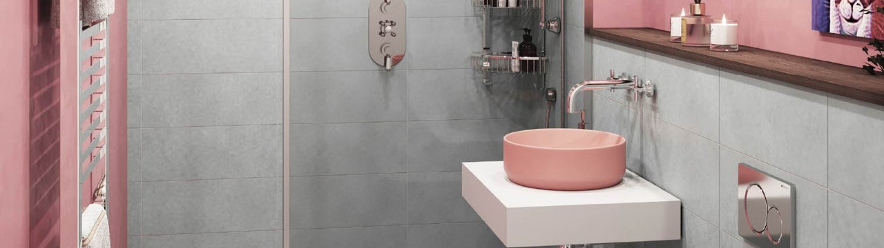 Bathroom Trends: 4 on-trend colour combos