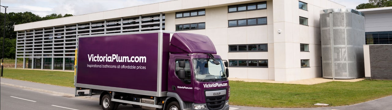 Enjoy bespoke delivery with your VictoriaPlum.com team