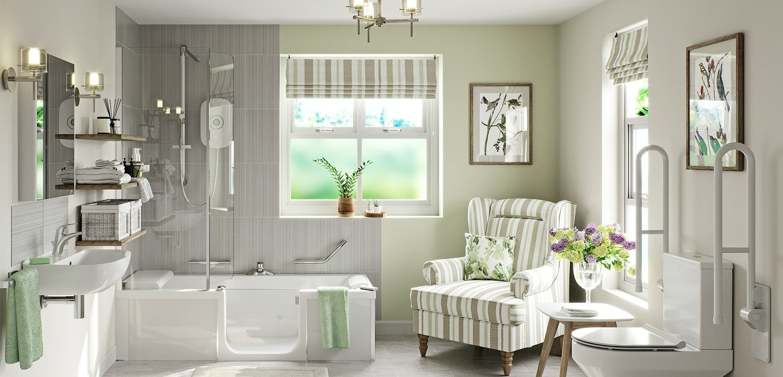 Attrayant Independent Living: How To Create A Stylish Bathroom For An Elderly Relative