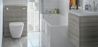 Ideal Standard: 5 top tips to make the most out of a small bathroom