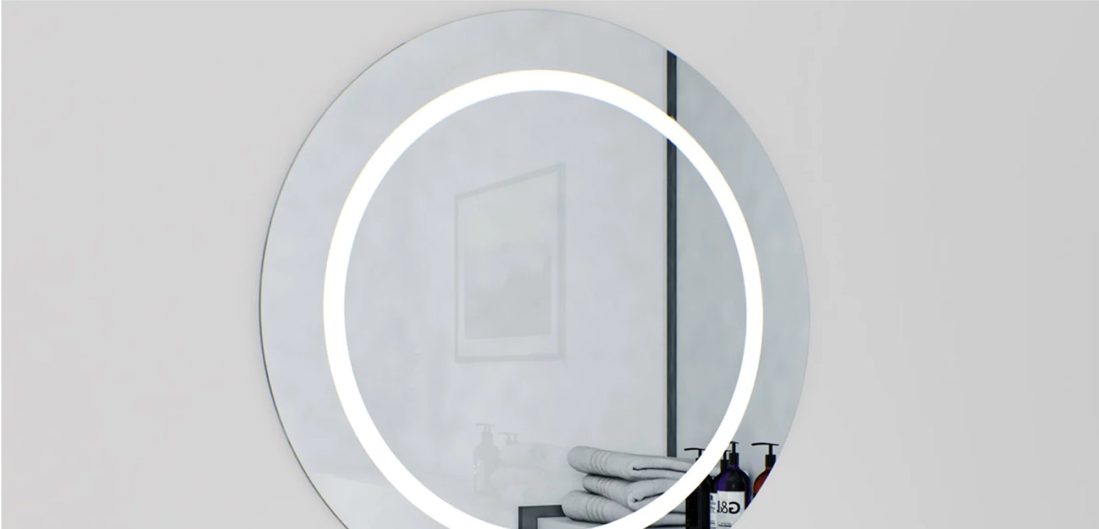 I can see clearly now… with an anti-fog bathroom mirror