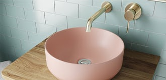6 colourful countertop basins to brighten up your bathroom