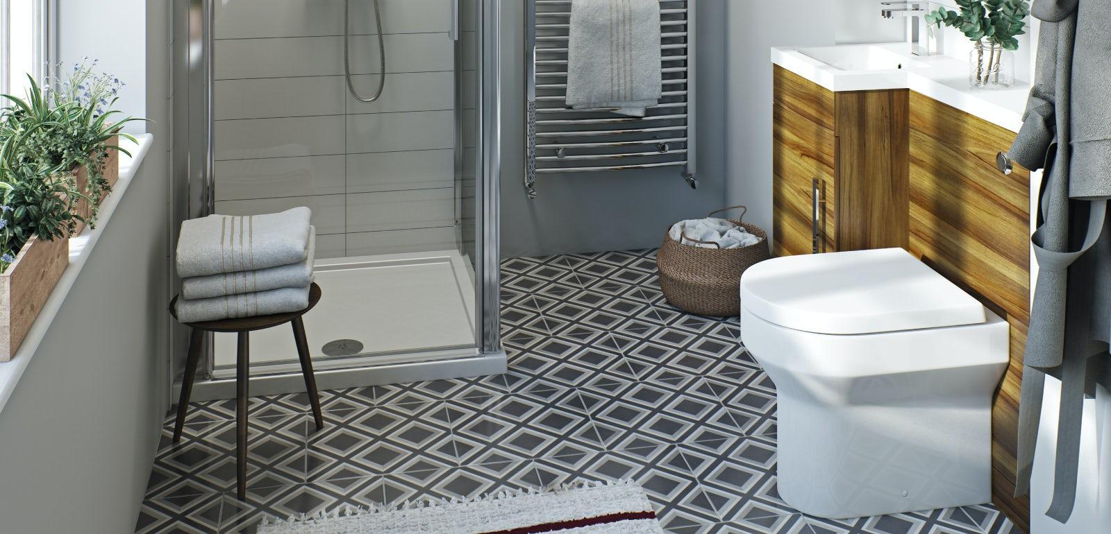 & Clever small toilet ideas | VictoriaPlum.com