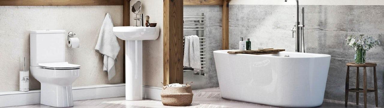 5 beautiful bathroom suites for under £850