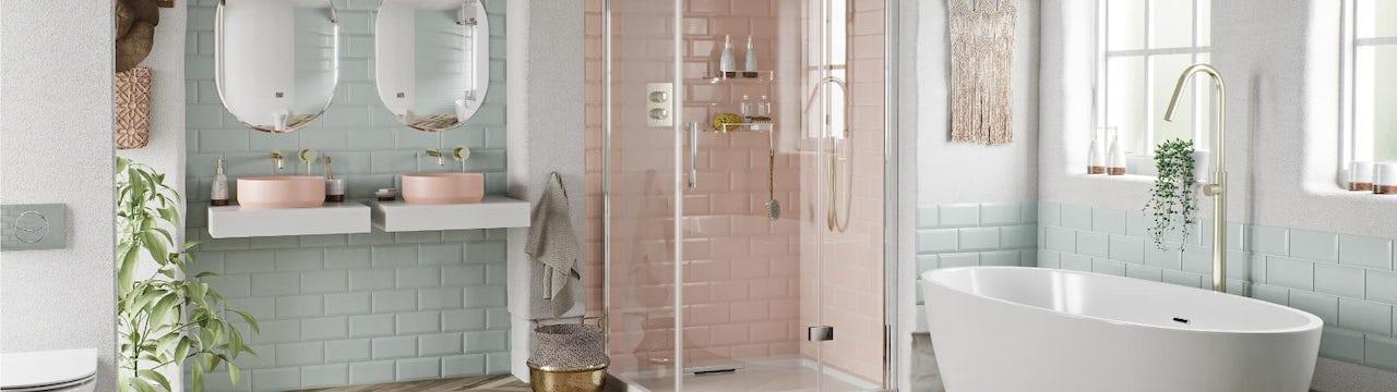 Bathroom Ideas: A Touch of Blush