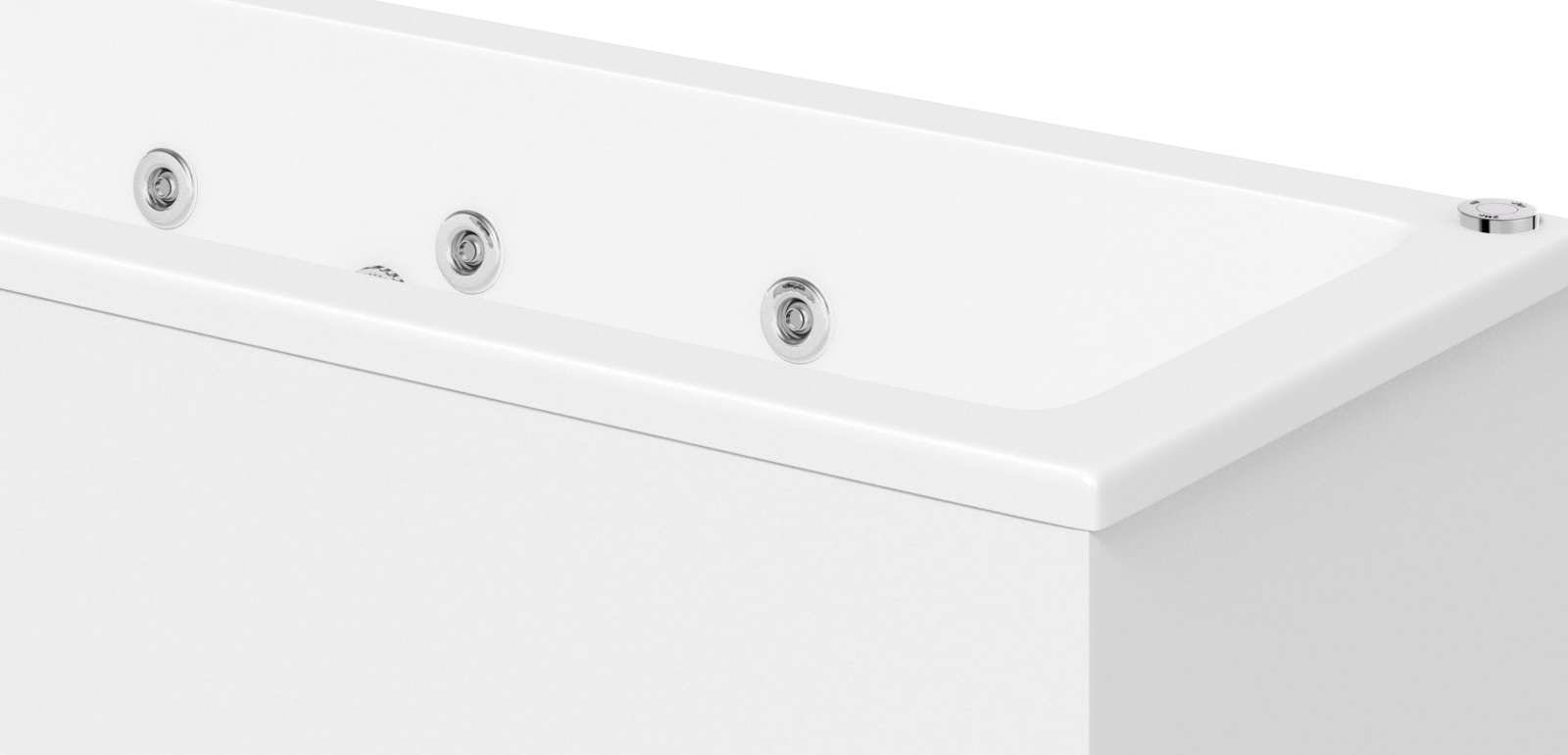 Upgrade to a whirlpool bath