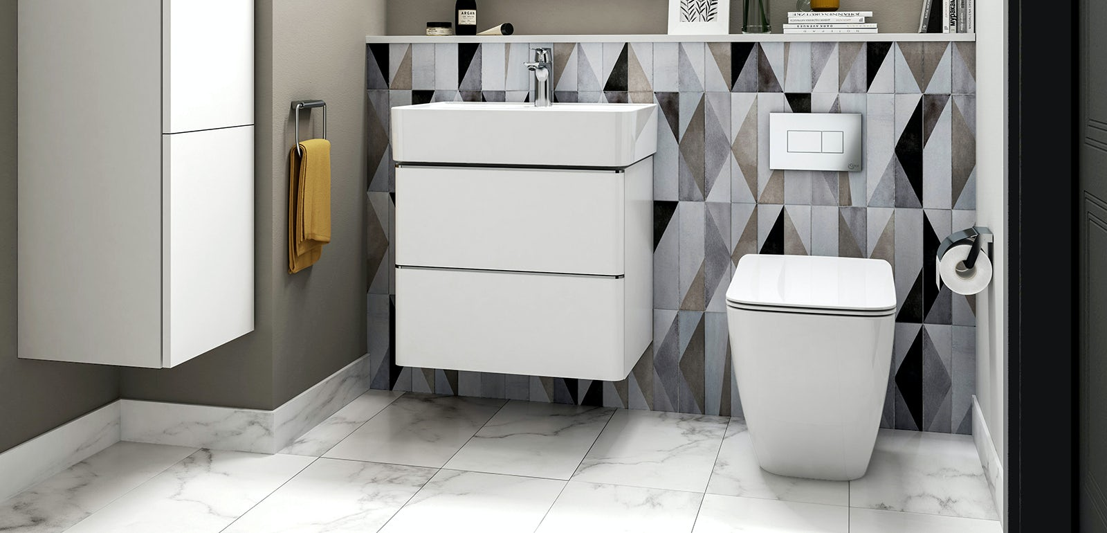 Ideal Standard: Top tips for adapting a modern bathroom to fit all lifestyles