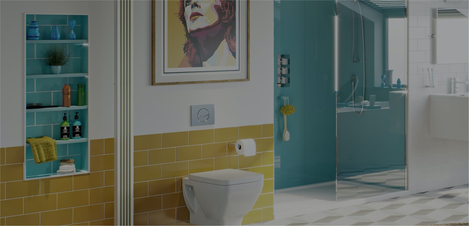 Bathroom ideas: New Retro part 2