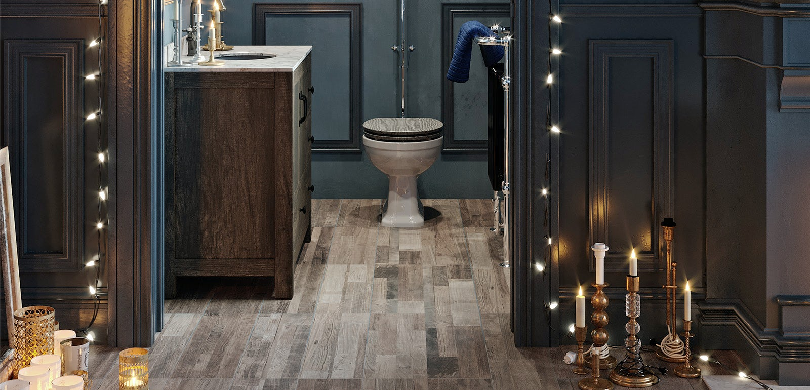 Bathroom Ideas: Enchanted Winter part 2